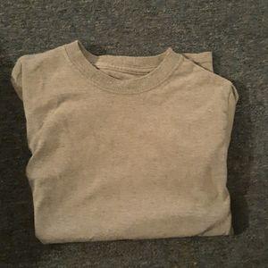 Boys plain gray t shirt